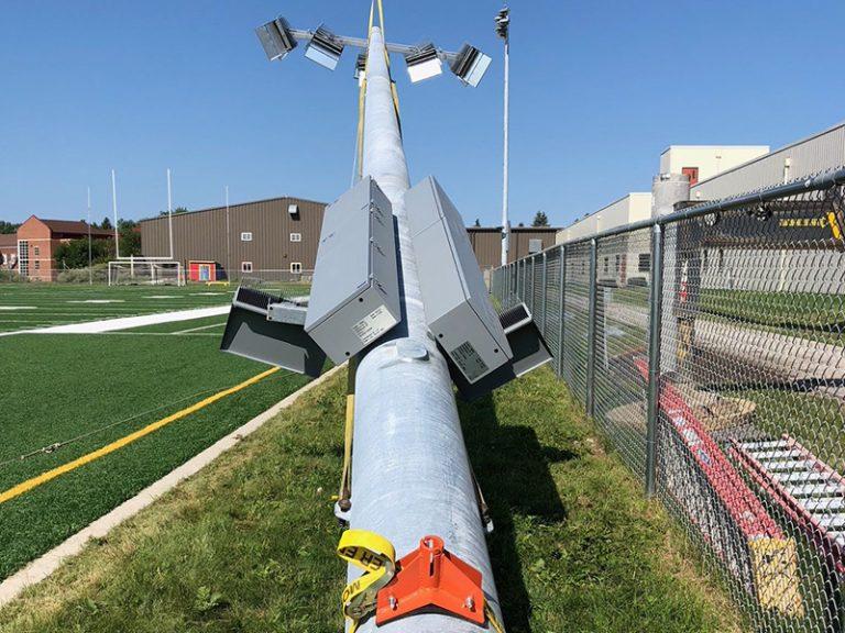 University of Jamestown Practice Field Lighting_MEI Crew (3)